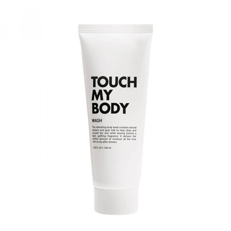 Гель для душа с козьим молоком и лактобактериями ESTHETIC HOUSE Touch My Body Goat Milk Body Wash, 100мл