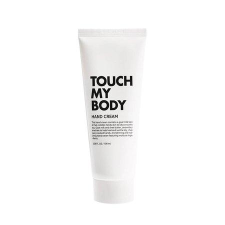 Крем для рук с козьим молоком и керамидами ESTHETIC HOUSE Touch My Body Goat Milk Hand Cream, 100мл