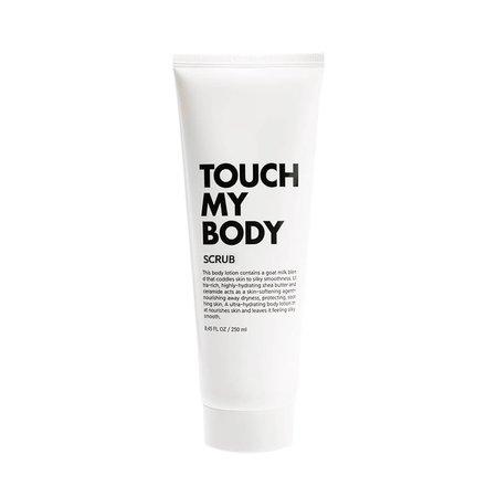 Скраб для тела с козьим молоком и лактобактериями ESTHETIC HOUSE Touch My Body Goat Milk Body Scrub, 100мл