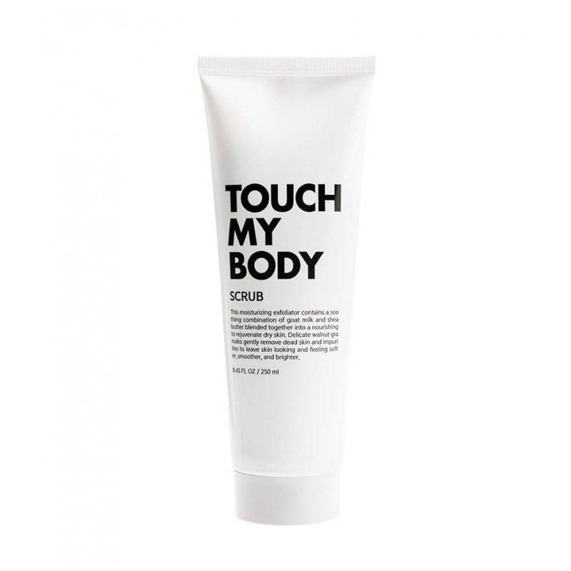 Скраб для тела с козьим молоком и лактобактериями ESTHETIC HOUSE Touch My Body Goat Milk Body Scrub, 250мл