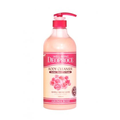 Гель для душа цветочный Deoproce Well-Being Aroma Body Cleanser Floral, 1000мл