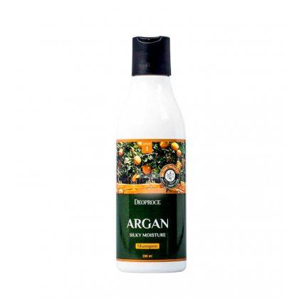 Шампунь для волос с аргановым маслом Deoproce Argan Silky Moisture Shampoo, 200мл