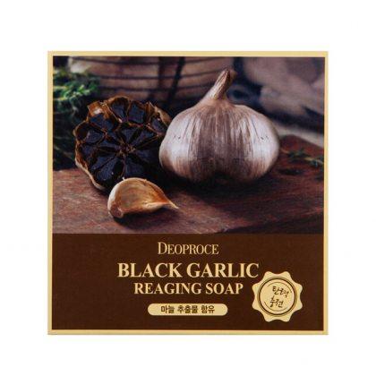 Мыло с экстрактом черного чеснока Deoproce Black Garlic Reaging Soap, 100г