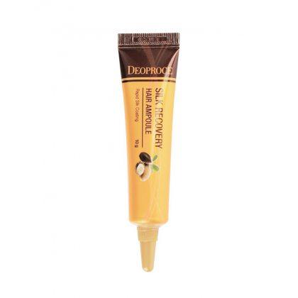 Сыворотка для волос восстанавливающая Deoproce Silk Recovery Hair Ampoule, 10г