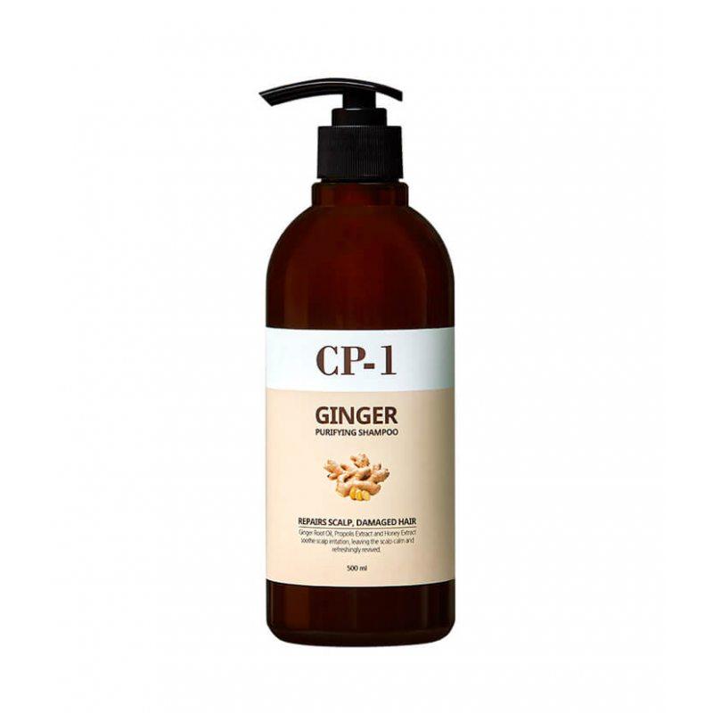 Шампунь для волос ESTHETIC HOUSE Ginger Purifying Shampoo, 500мл