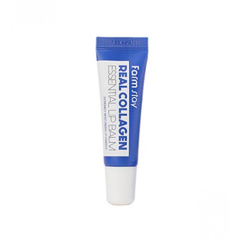 Бальзам для губ суперувлажняющий с коллагеном FarmStay Real Essential Lip Balm Collagen, 10мл