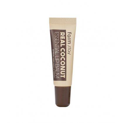 Бальзам для губ суперувлажняющий с экстрактом кокоса FarmStay Real Essential Lip Balm Coconut, 10мл