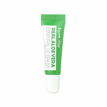 Бальзам для губ суперувлажняющий с экстрактом алоэ FarmStay Real Essential Lip Balm Aloe, 10мл