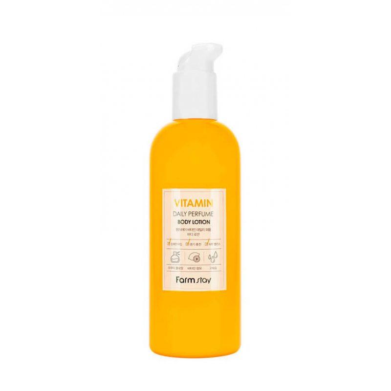 Парфюмированный лосьон для тела с витаминами FarmStay Daily Perfume Body Lotion Vitamin, 330мл