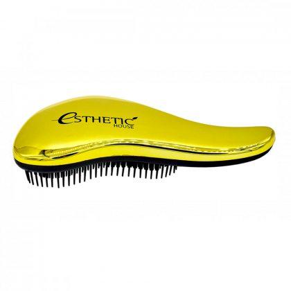 Расческа для волос золотая Esthetic House Hair Brush For Easy Comb Gold