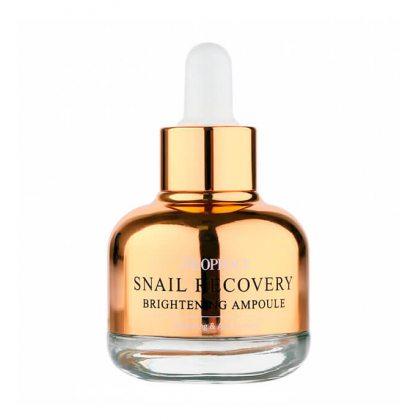 Сыворотка восстанавливающая осветляющая с муцином улитки Deoproce Snail Recovery Brightening Ampoule, 30мл