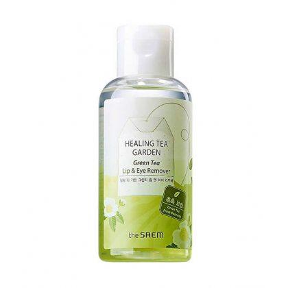 Средство для снятия макияжа с глаз и губ The Saem Healing Tea Garden Green Tea Lip&eye, 150мл